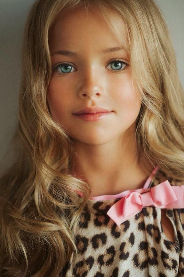 Kristina Pimenova, La Niña Modelo Más Hermosa Del Mundo
