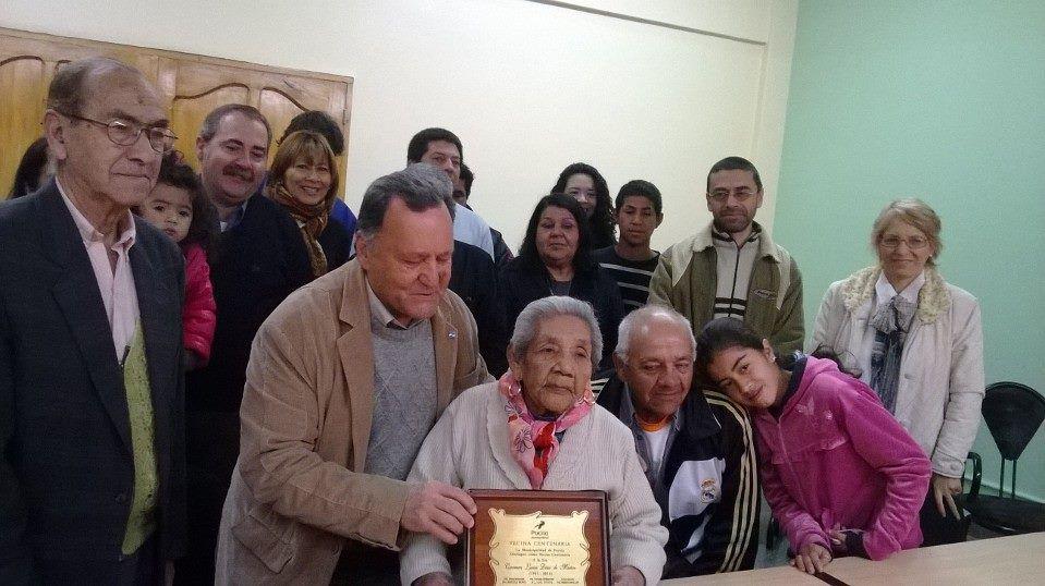 Luisa Díaz, la abuela pocitana que superó los 100 años y va por más ...