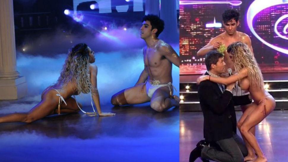 Argentina bailando desnuda bailarina de tv - 3 part 5