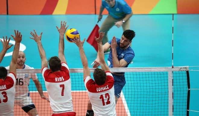 Argentina venció a Rusia en vóley — Río