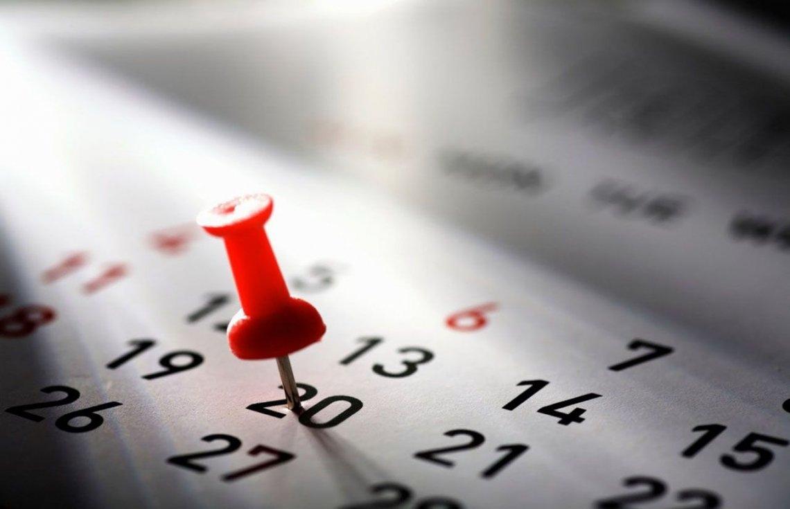 Estos serán los feriados en 2018 — Para agendar