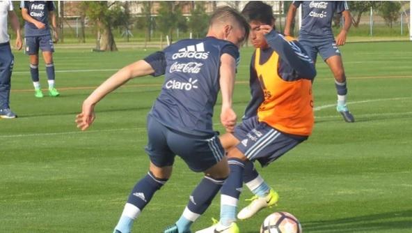 Selección Argentina Sub 15 debutó ganando 3-2