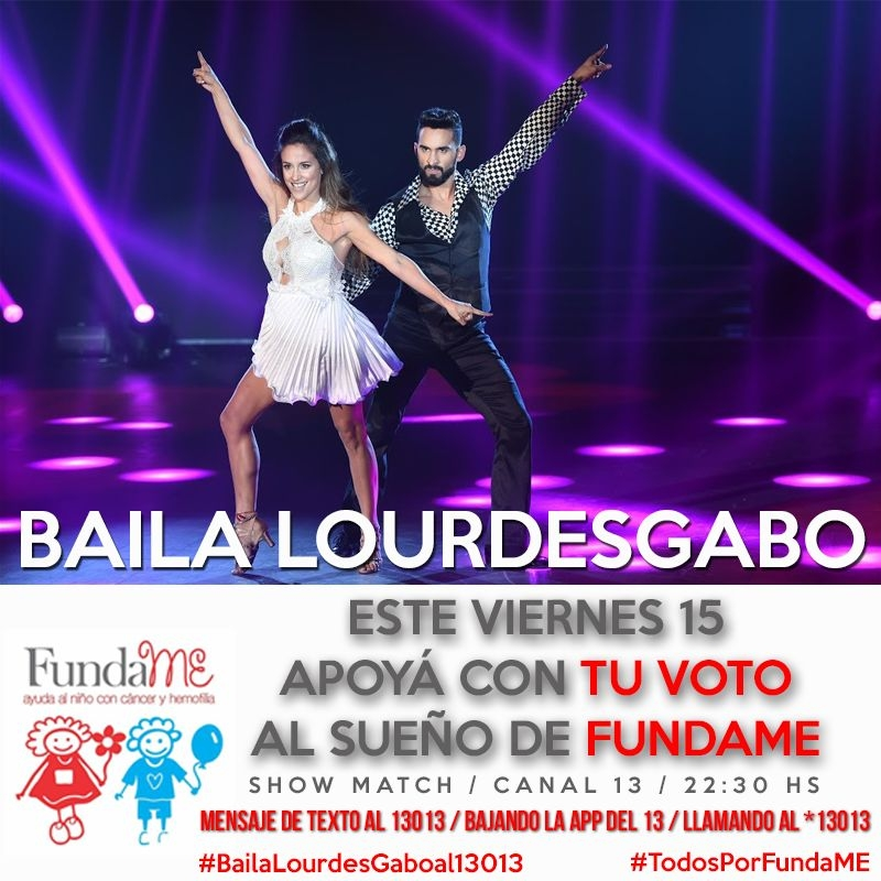 Laurita Fernández y Fede Bal, finalistas del Bailando