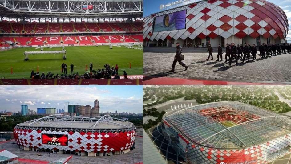 Conocé losestadios donde jugará Argentina en Rusia