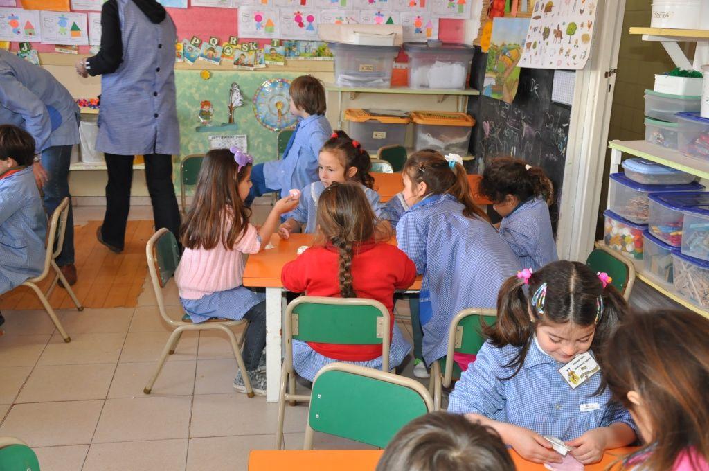 Habilitar n 30 salas de nivel inicial para chicos de 3 for Azul naranja jardin de infantes