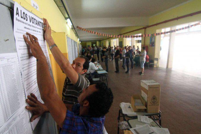 Elecciones Legislativas: Las autoridades de mesa cobrarán 1.200 pesos