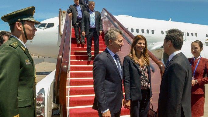 Macri llegó a China y lo espera una cargada agenda