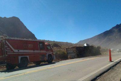 Cuatro muertos tras un choque en alta montaña en Mendoza