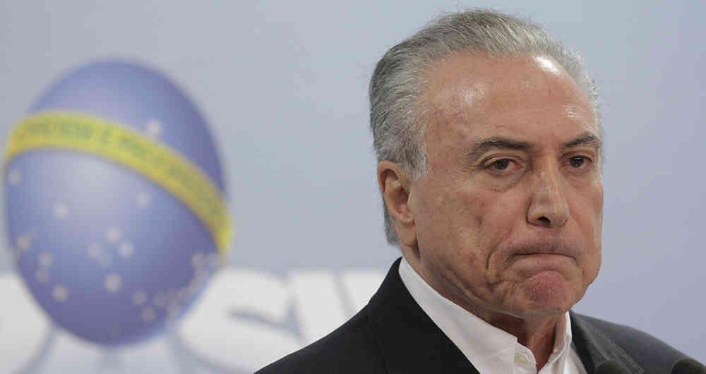 Corte Suprema de Brasil autoriza a la policía interrogar a Presidente