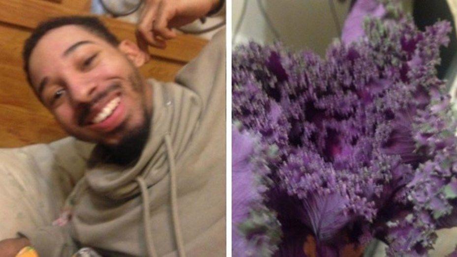 Confunde su novio lechuga con un ramo de flores