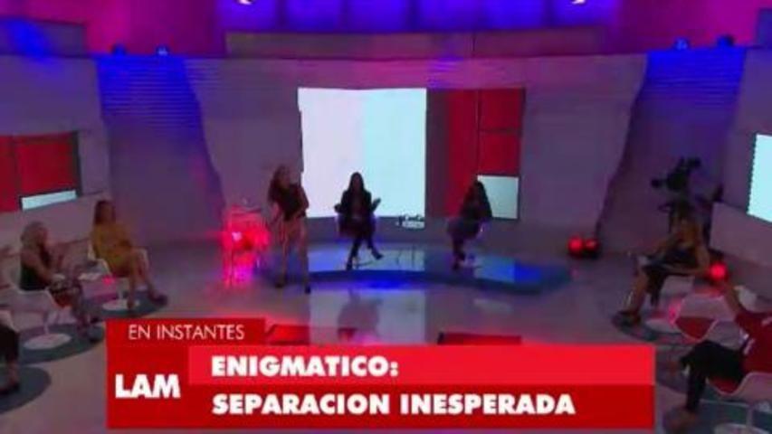 Julián Serrano desmintió su separación con Oriana Sabatini