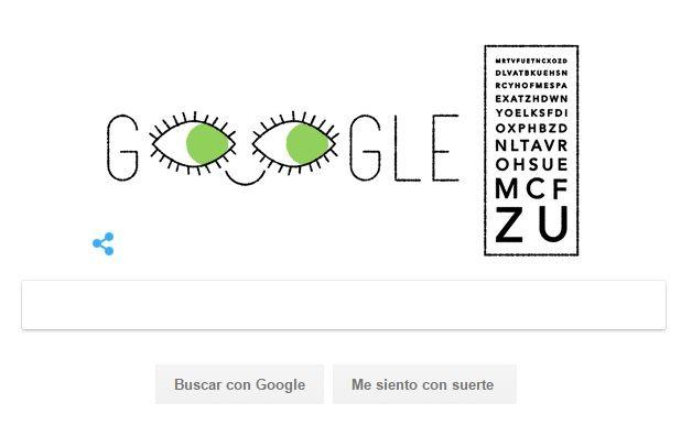 Google reconoce el trabajo del oftalmólogo inventor de la dioptría — Ferdinand Monoyer