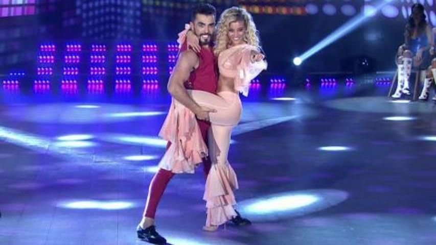 Sol Pérez enloqueció a todos con su baile hot y simpatía