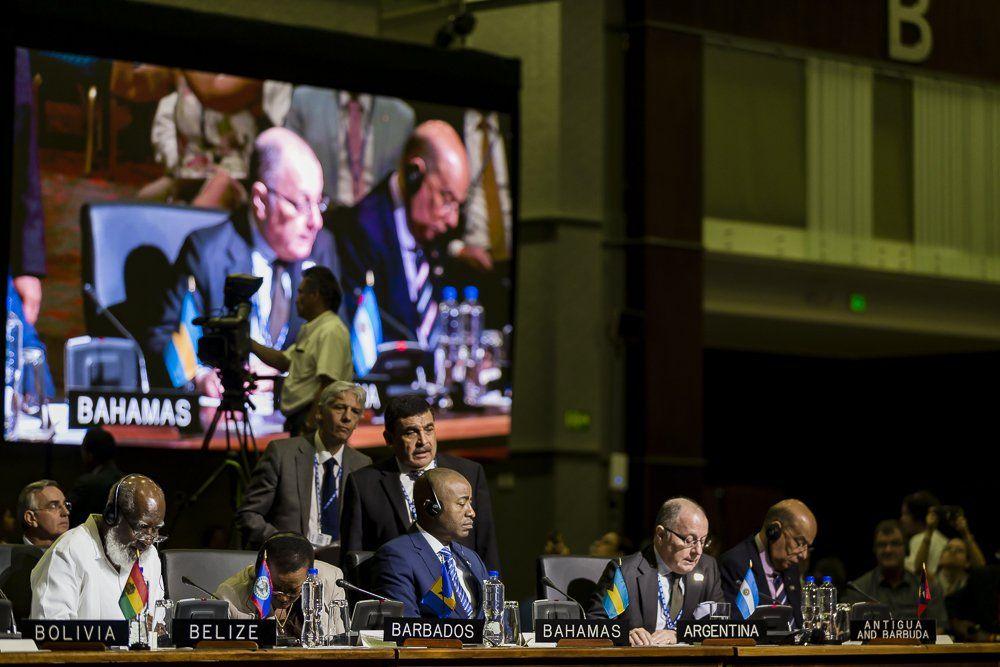 Pide OEA luchar contra inseguridad y armas con responsabilidad compartida