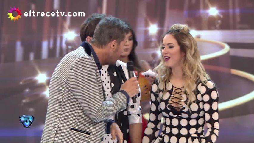 Susto en el Bailando: Flor Vigna terminó la coreo sangrando