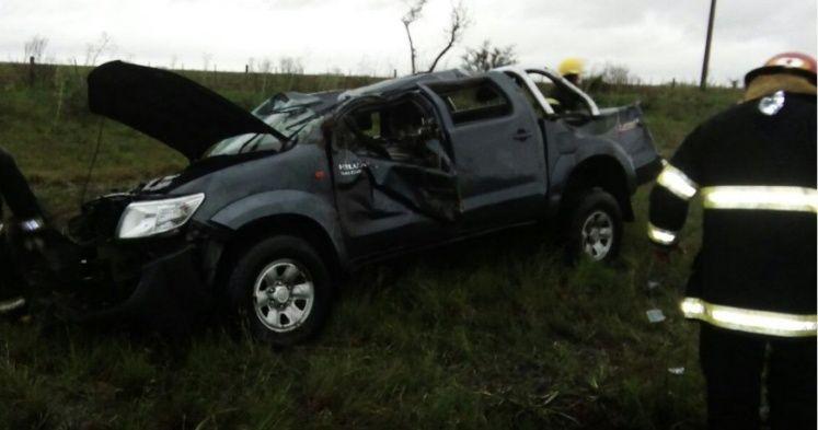 Son tres niños los muertos en el accidente de Ruta 40