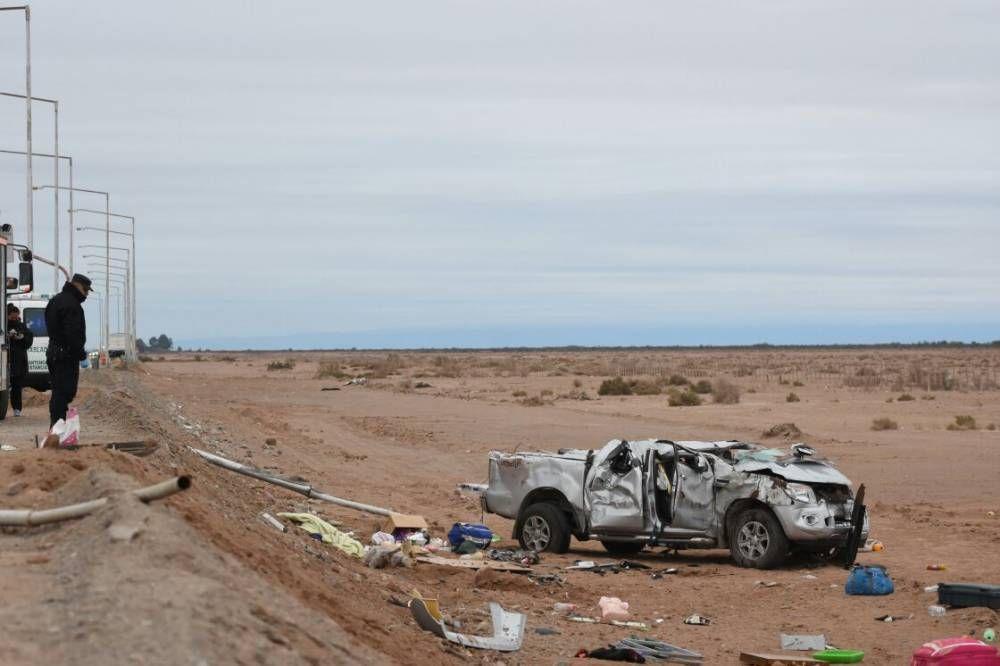 Tres niños fallecidos en un impresionante accidente en el límite con Mendoza