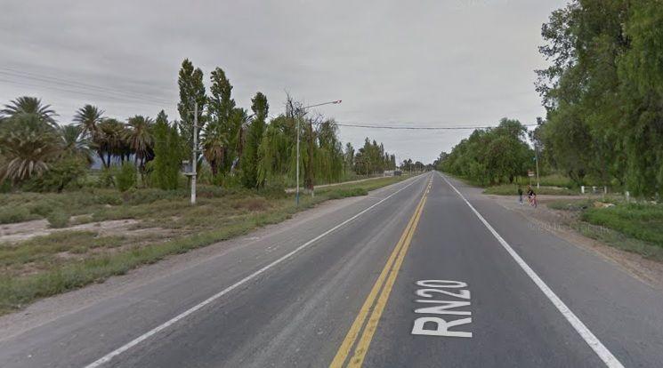 Una ciclista murió tras ser embestida cerca del aeropuerto — Accidente fatal