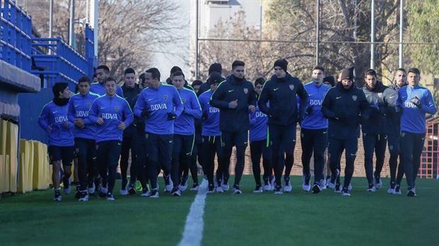 Espinoza se hizo la revisación médica y Goltz comenzó a entrenarse — Boca