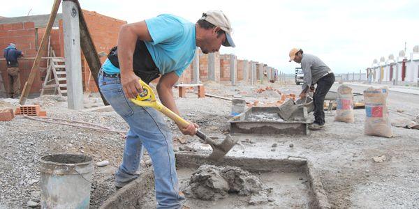El empleo formal en la construcción superó 400.000 puestos de trabajo