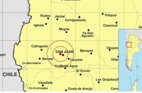 Sismo en San Juan