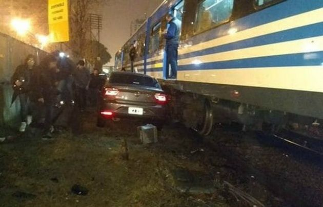 Nuevo choque pone al tren Sarmiento en la mira
