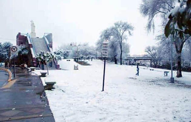 Se cumplen 10 años de la última nevada — Feriado mágico