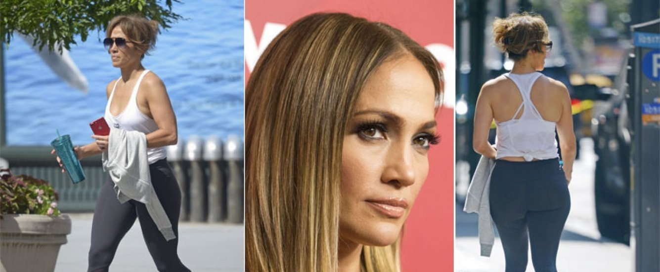 Mir a jennifer lopez con calzas y sin maquillaje diario la mir a jennifer lopez con calzas y sin maquillaje thecheapjerseys Choice Image