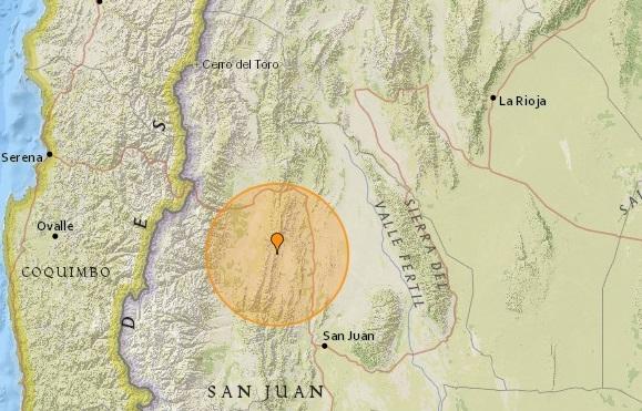 Fuerte sismo sacudió la siesta en San Juan