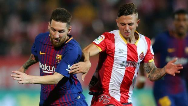Maffeo, la sombra que dejó a Messi sin marcar en Girona