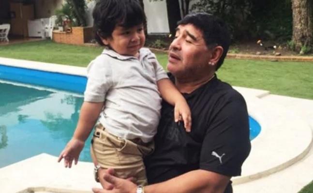 Internaron a Dieguito Fernando Maradona en Estados Unidos