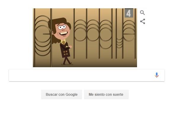 Eduard Jil, Mr Trololo, es homenajeado por Google