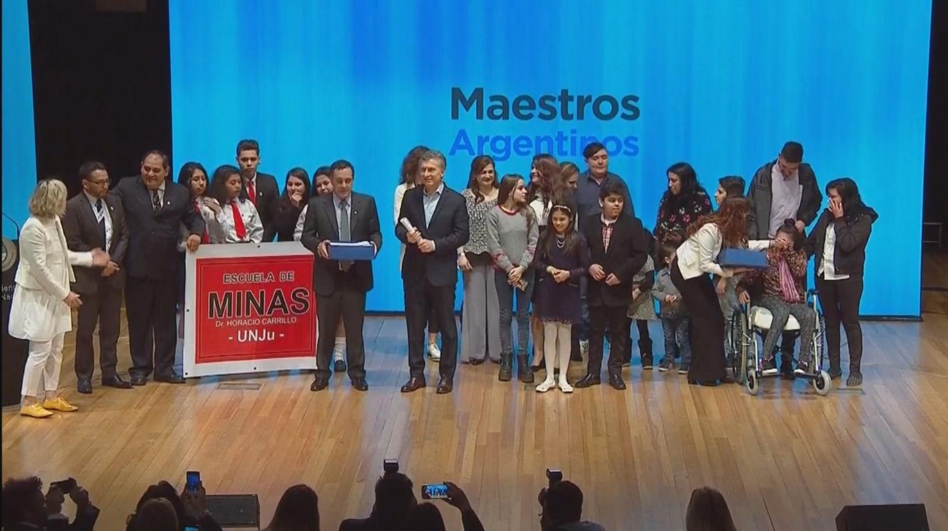 Macri pidió a docentes