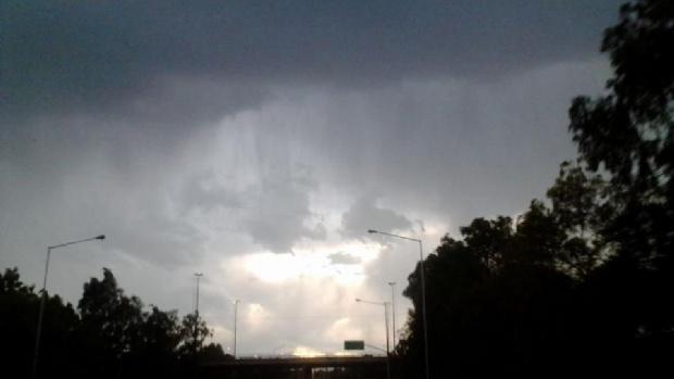 Sigue el alerta de tormentas fuertes para el centro del país