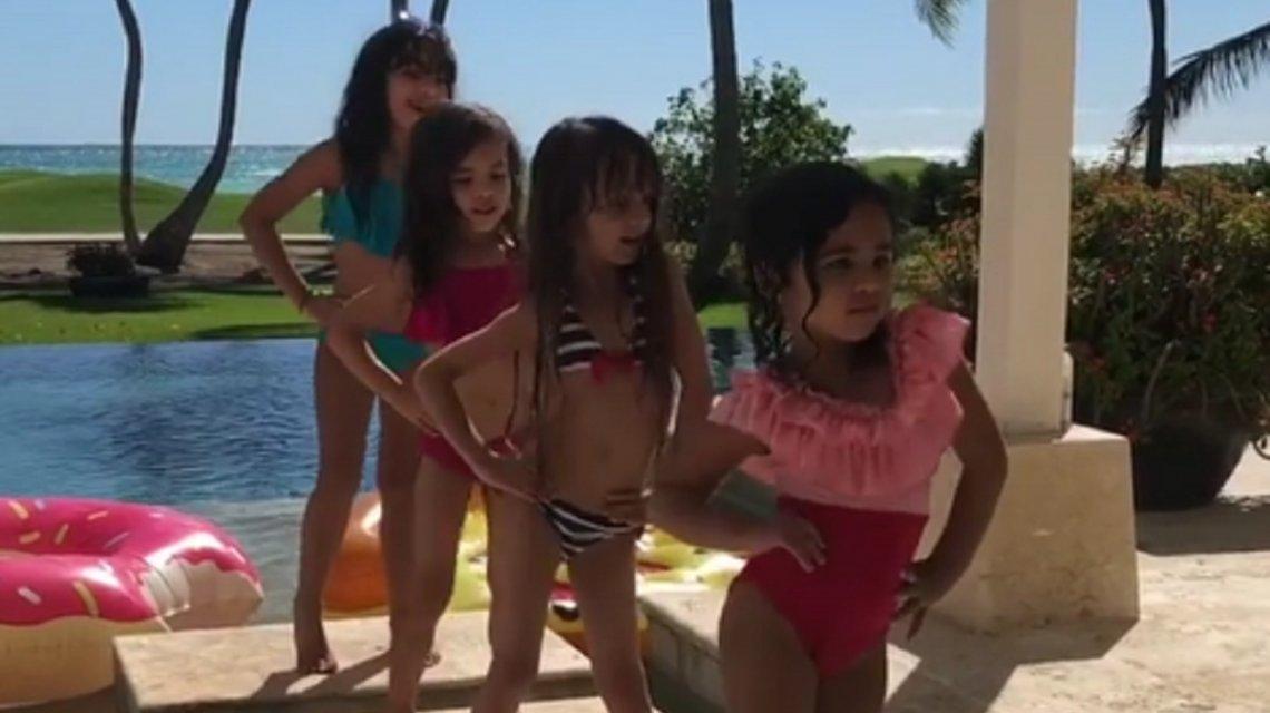 Hija de Luis Fonsi enternece la web bailando