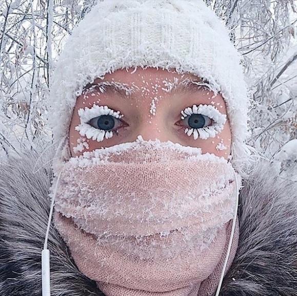 Registra récord de temperatura la ciudad más fría del mundo