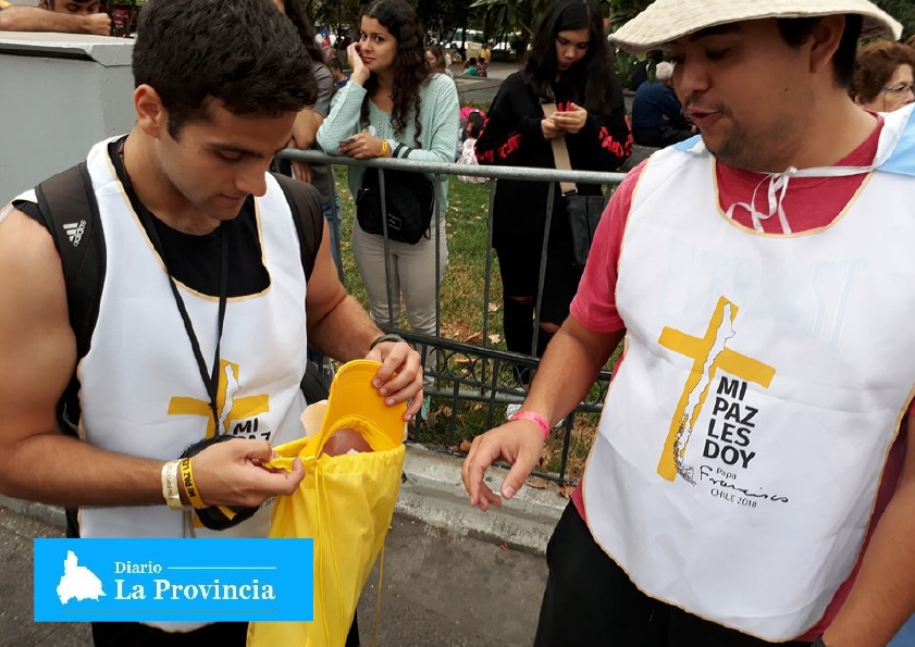 Reacción de niño chileno por visita del Papa se hace viral — Twitter