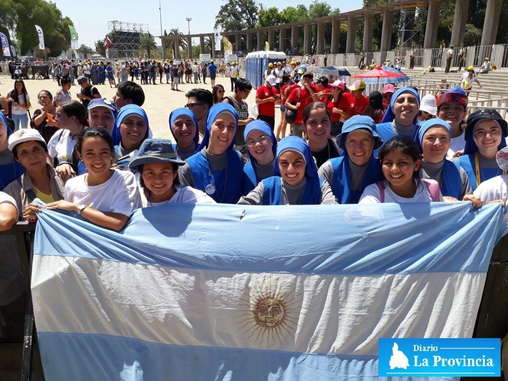 El papa y jóvenes chilenos 'se conectan' en Santiago