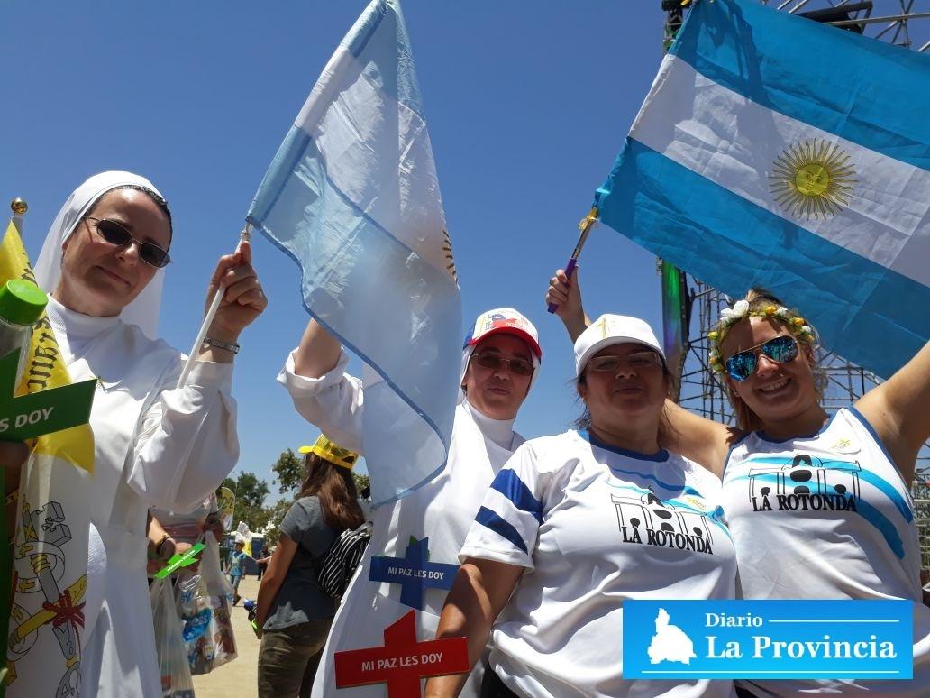 Cathy Barriga espera al Papa Francisco con especial regalo