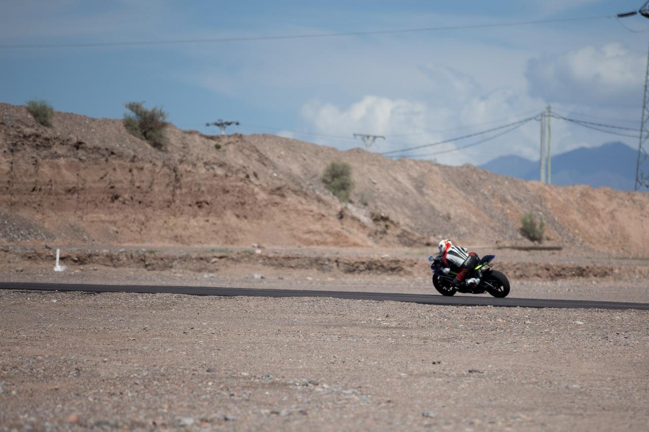 Circuito Villicum : Especialistas probaron el asfalto del autódromo el villicum que está