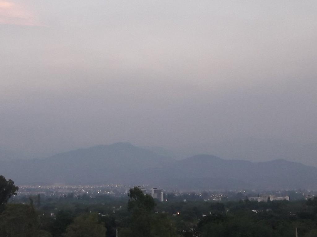 100 mil hectáreas arrasadas — Incendio en Mendoza