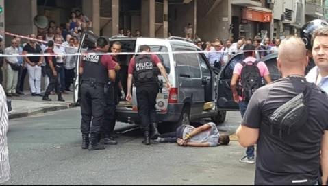 Feroz tiroteo en pleno centro porteño: una jueza herida
