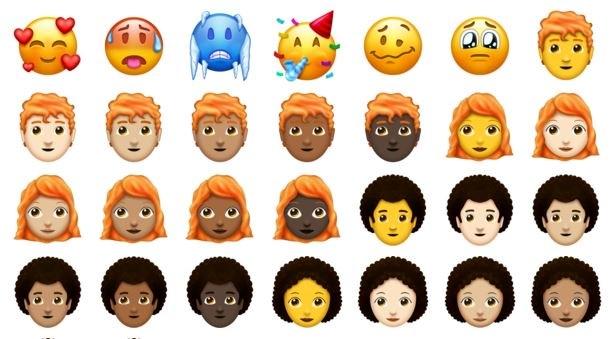 Estos son los 157 emojis que serán lanzados este 2018