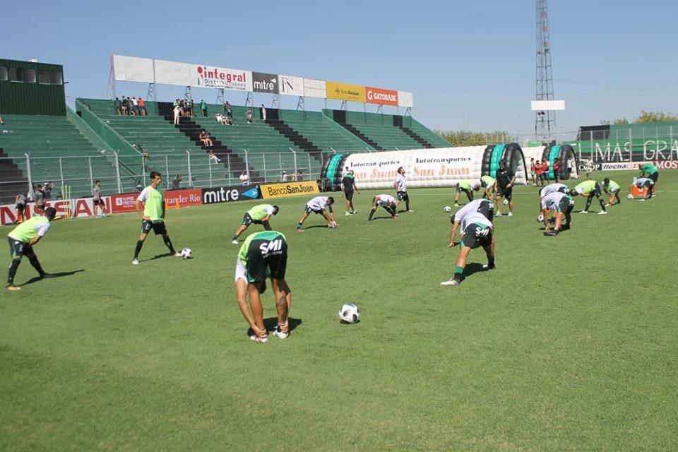 Gastón Coyette encabezó el primer entrenamiento frente a San Martín