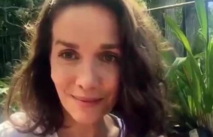 Natalia Oreiro envió un video a sus fanáticos por su salud