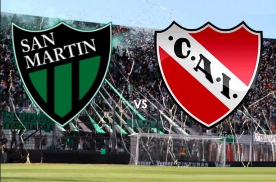 Independiente visita a San Martín de San Juan