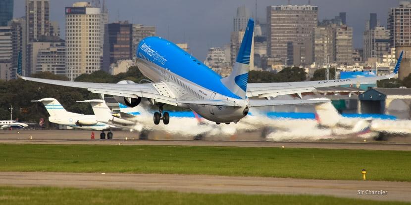 Numerosos vuelos internacionales dejarán de operar desde Aeroparque