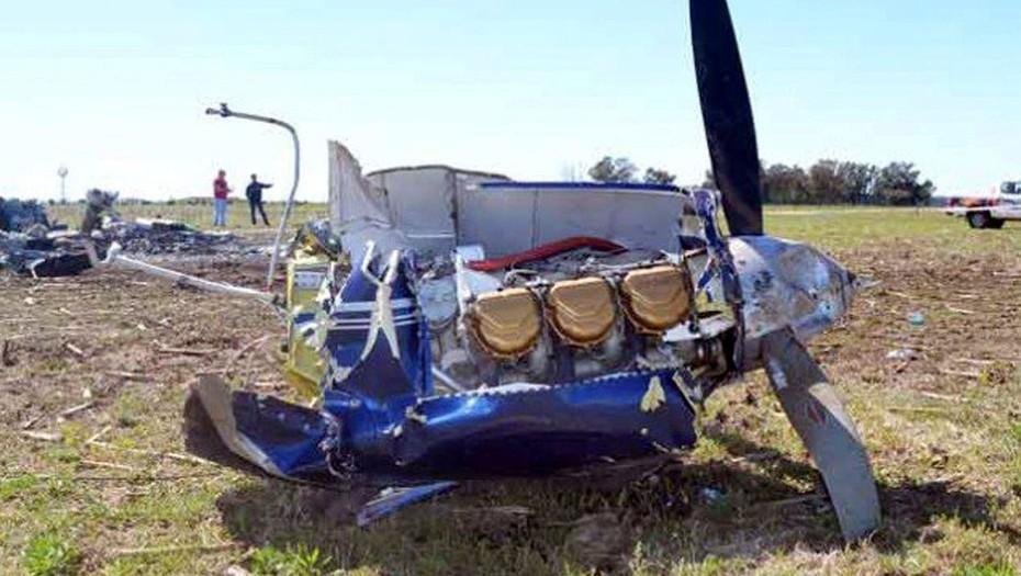 Cayó una avioneta entre La Pampa y Buenos Aires: 5 muertos