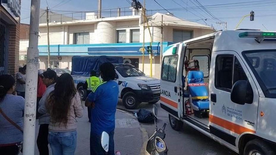 Bebé murió en los brazos de su mamá en Monterrico