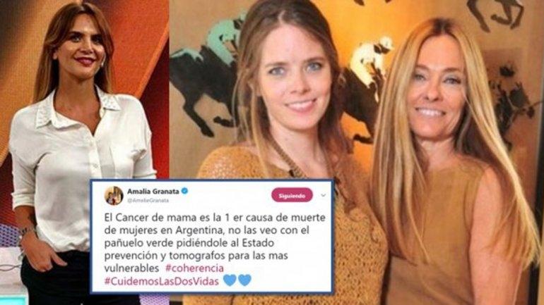 Echaron a Amalia Granata del programa de Maju Lozano
